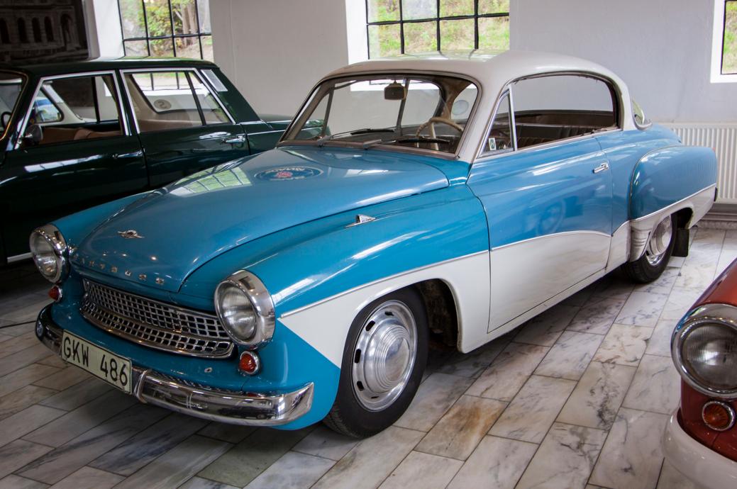 1964 Wartburg 311 Hardtop Coupe 992cc 3-Cylinder 2-Stroke