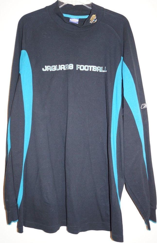 8f5b7395 NFL Team Apparel Reebok Jacksonville Jaguar Men's Shirt Black & Teal ...
