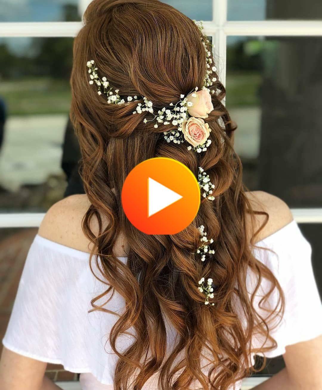 花嫁のための花内の20件の結婚式のヘアスタイル in 2020 wedding hairstyles make it yourself fresh flowers