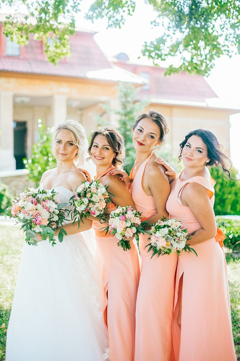 10 strahlende Inspirationen für eine Hochzeit in Apricot