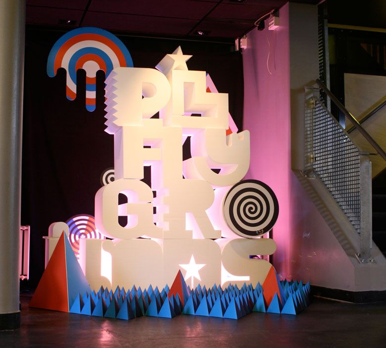Playground festival 3D type - Staynice