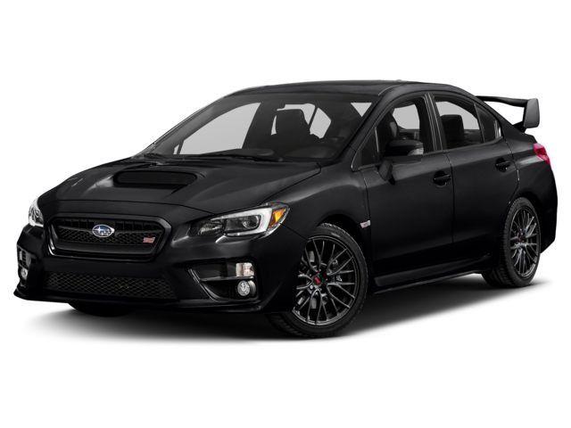 2017 Subaru WRX STI Sedan Crystal Black Silica