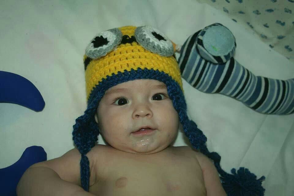 Gorro Minion bebe