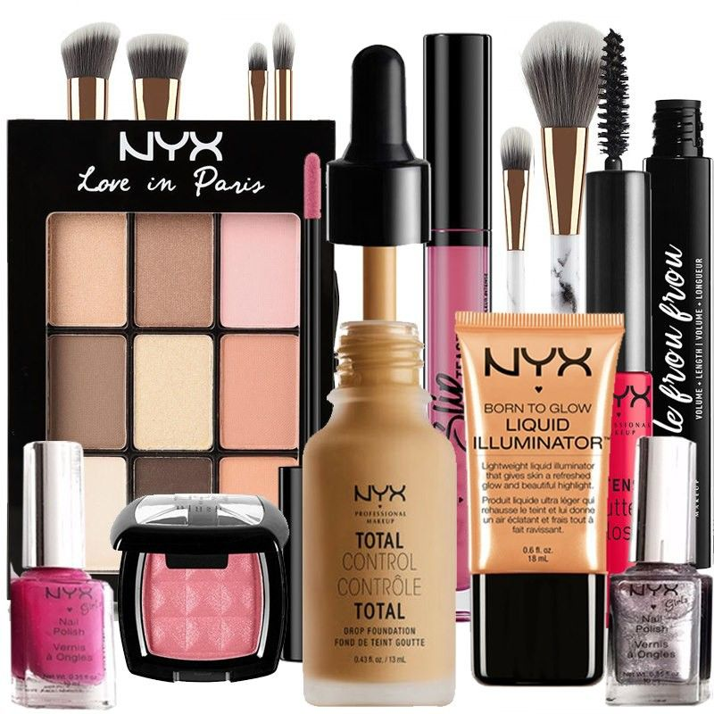 NYX Drop, Total Control 13 Golden Beauty Box Custom