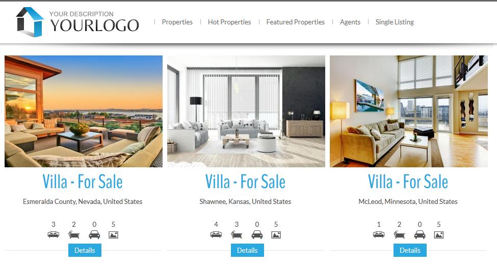 real-estate-listing-realtyna-wpl screenshot 5 | Wordpress