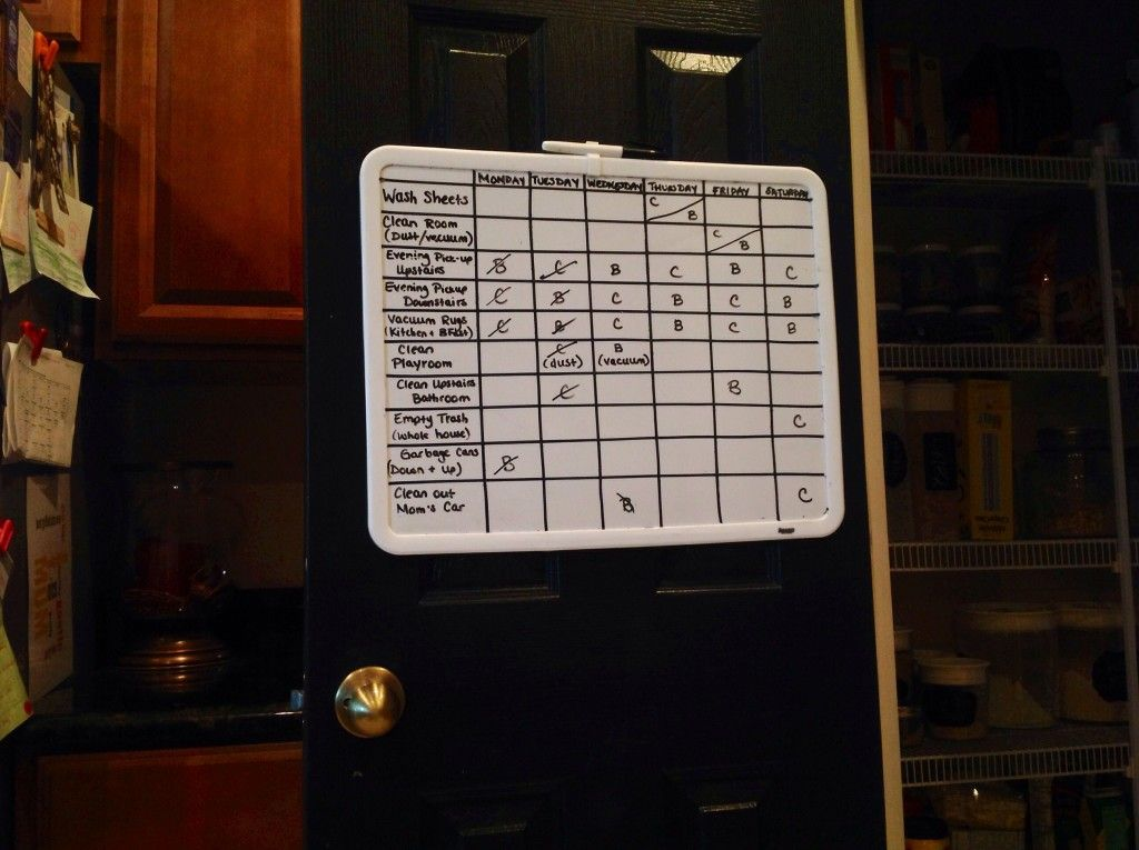 Diy Dry Erase C Chart With Thin Craft Tape Ready To Take It Online Try Famzoo