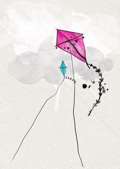 Kite On Pinterest Kites Kite Tattoo And Bunny Nursery Kite