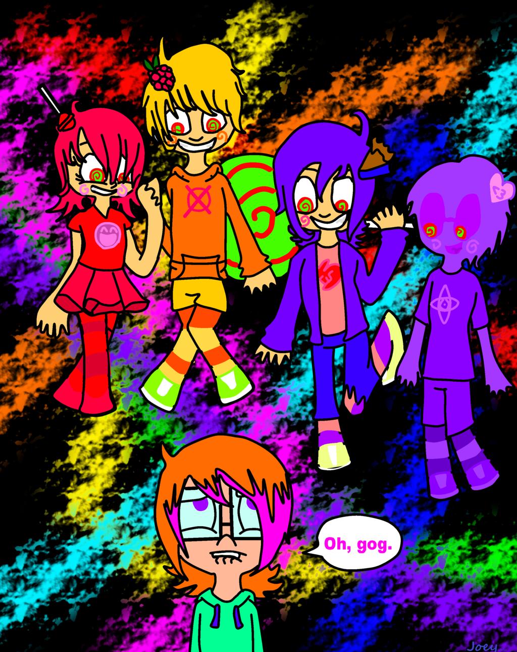 Trickster Mode Terror by KoosyLover99