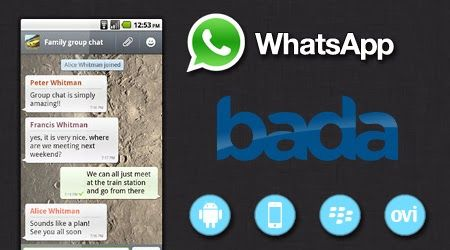 How to Download Whatsapp App for Samsung Bada or JAVA Mobile