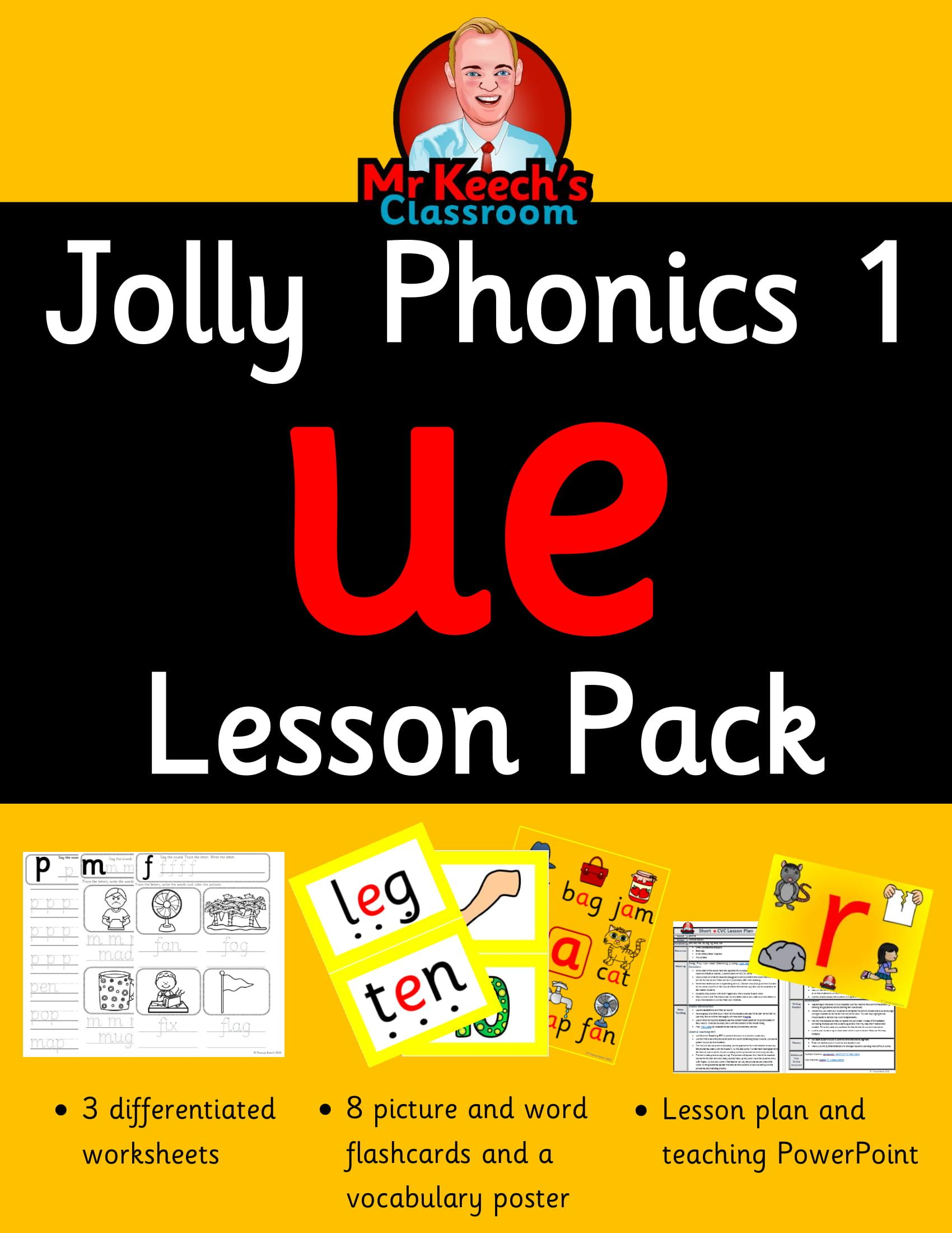 Phonics Worksheets Lesson Plan Flashcards