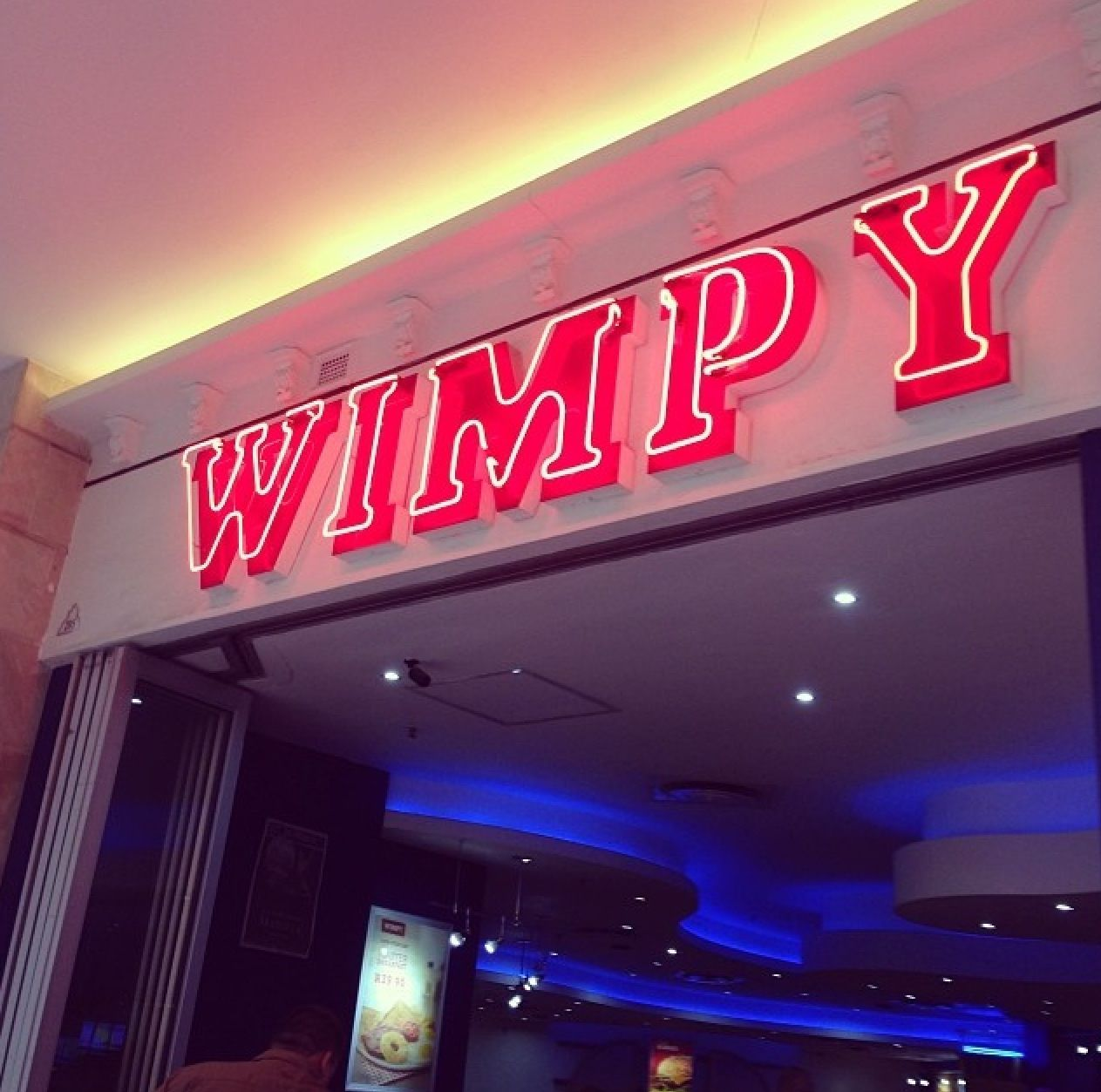 WIMPY, Durban , South Africa .... I Sooo Miss Eating Here