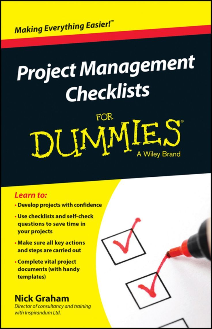 Project Management Checklists For Dummies (eBook) in 2020