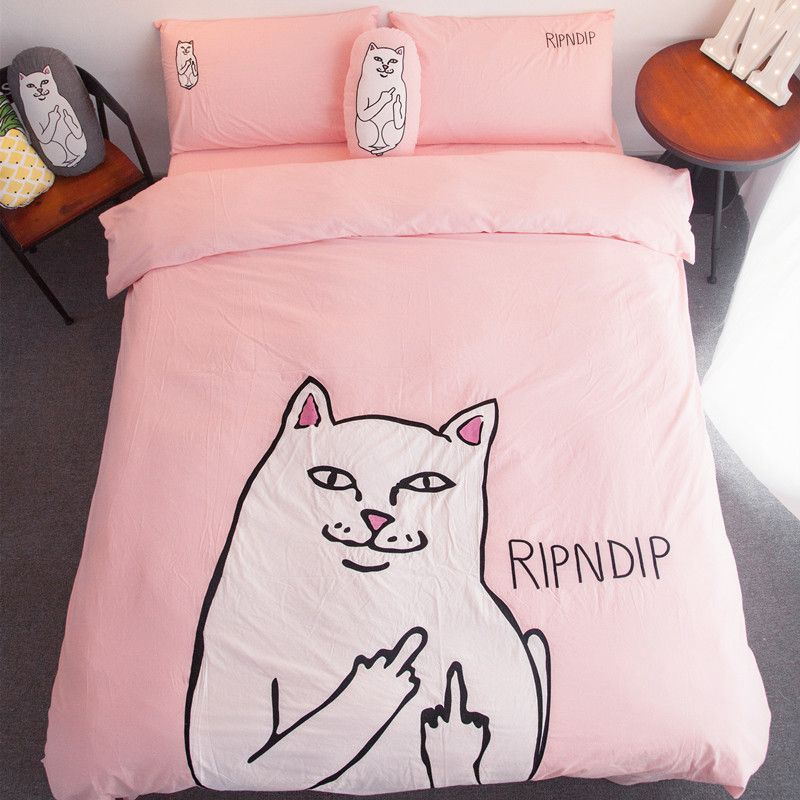 our fun rip n dip four piece duvet bedding set comes in both queen u0026 king