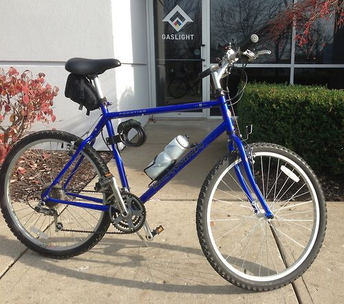 6ea07429773 My 1999 Schwinn Frontier | Blue and Gold | Bicycle, Bike, Vehicles