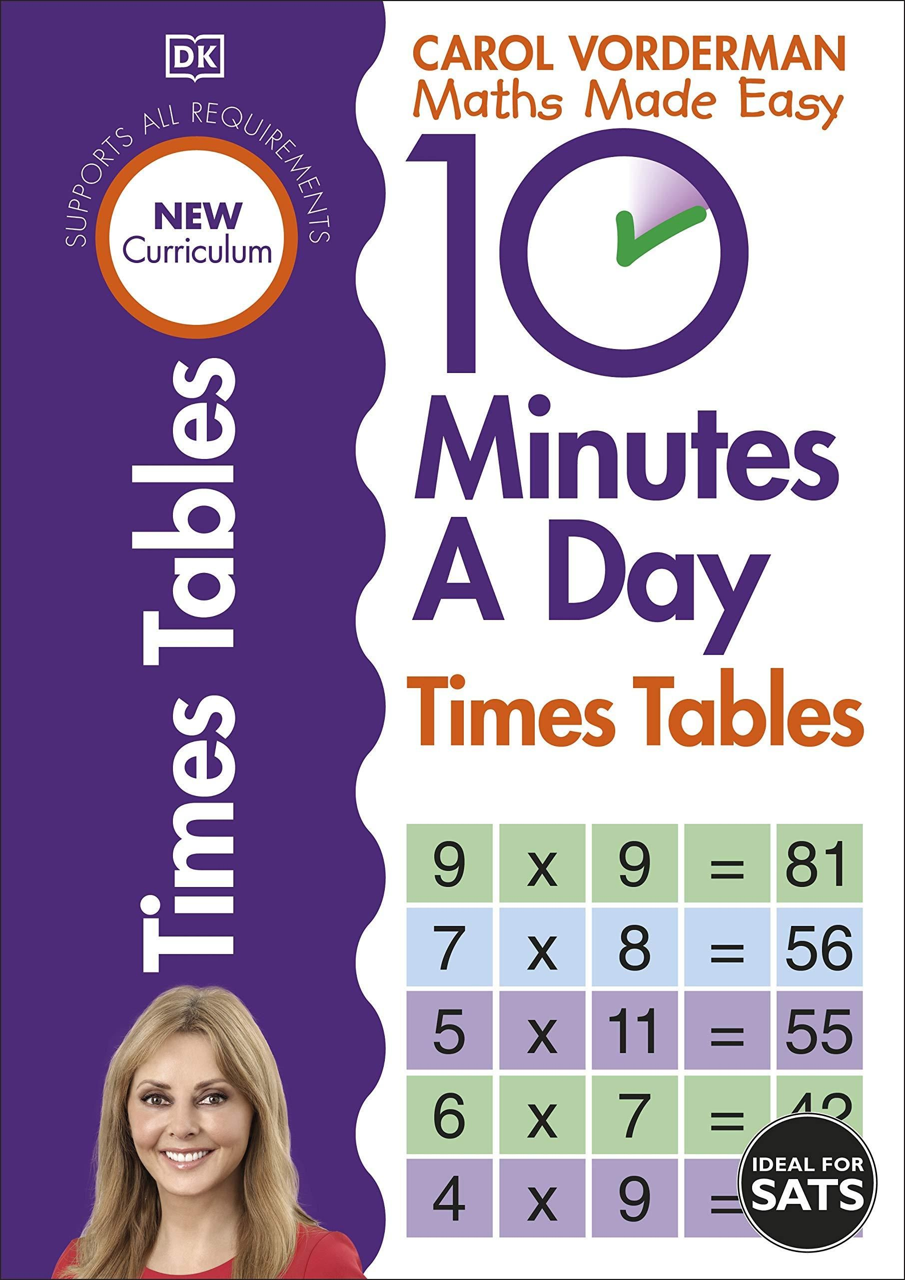 Free Download 10 Minutes A Day Times Tables Made Easy Workbooks Pdf In 2020 Times Tables Math Made Easy Carol Vorderman