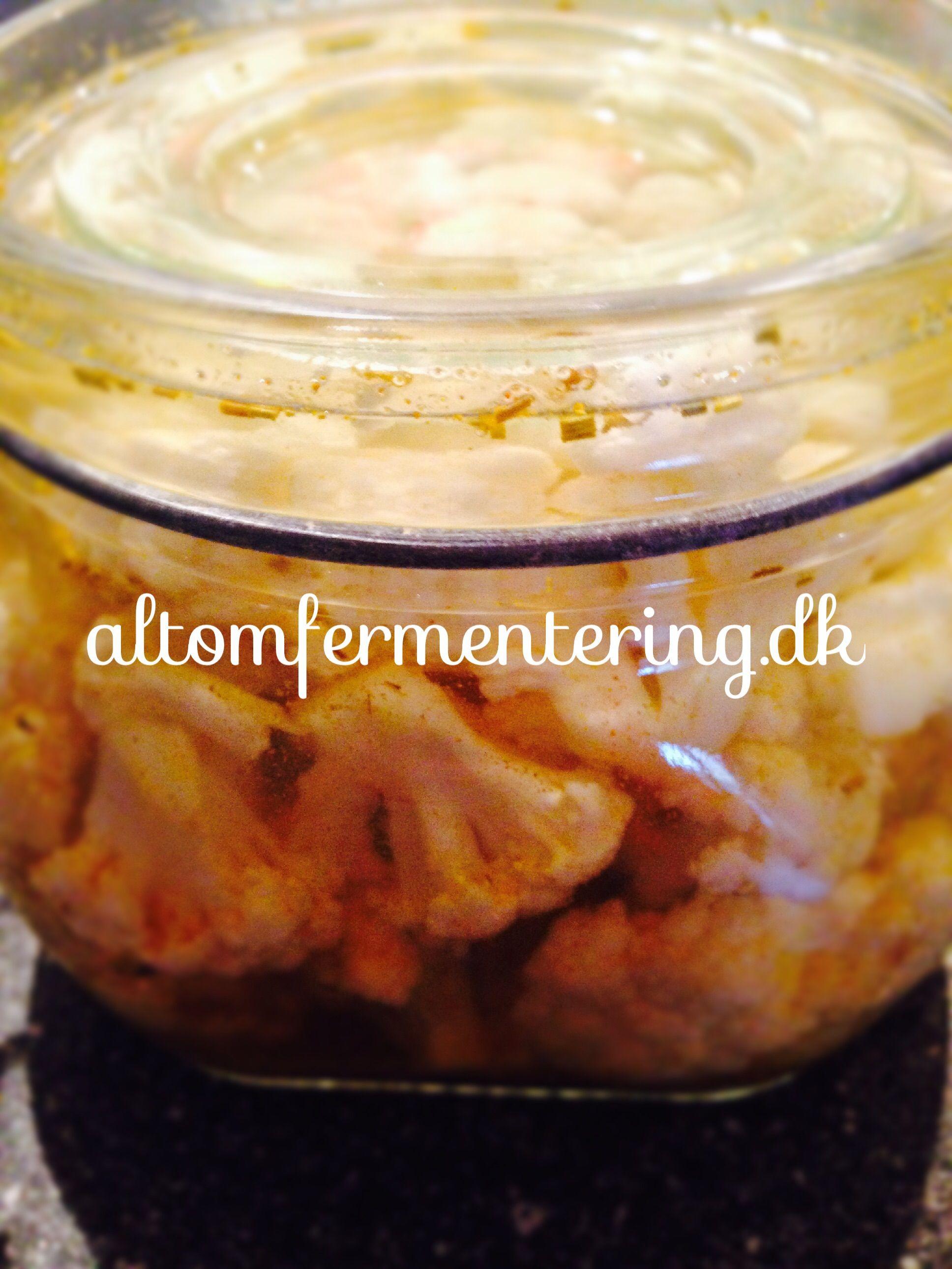 fermenteret blomkål