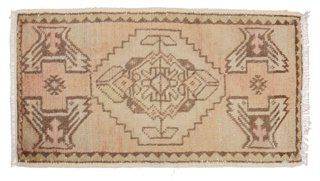"Turkish Rug, 1'7"" x 3'"