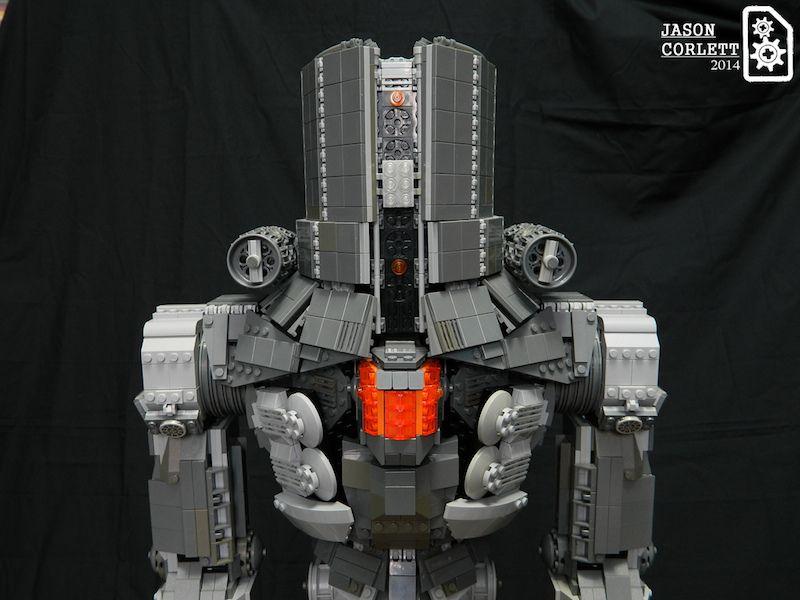 Cherno Alpha | LEGO® MOC by Jason Corlett. #LEGO #PacificRim #Jaegers #Robot #Mecha #Mech
