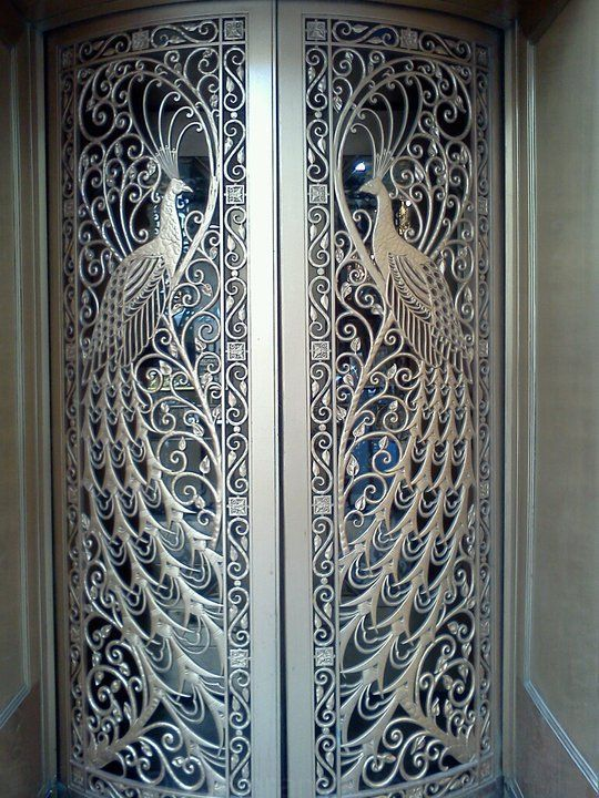South State Street Peacock Art Deco Jewelry Store Doors, Chi …
