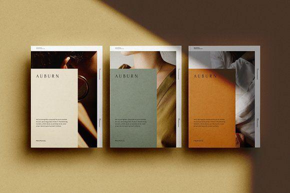 Auburn Proposal Magazine Design Book Layout Book Design
