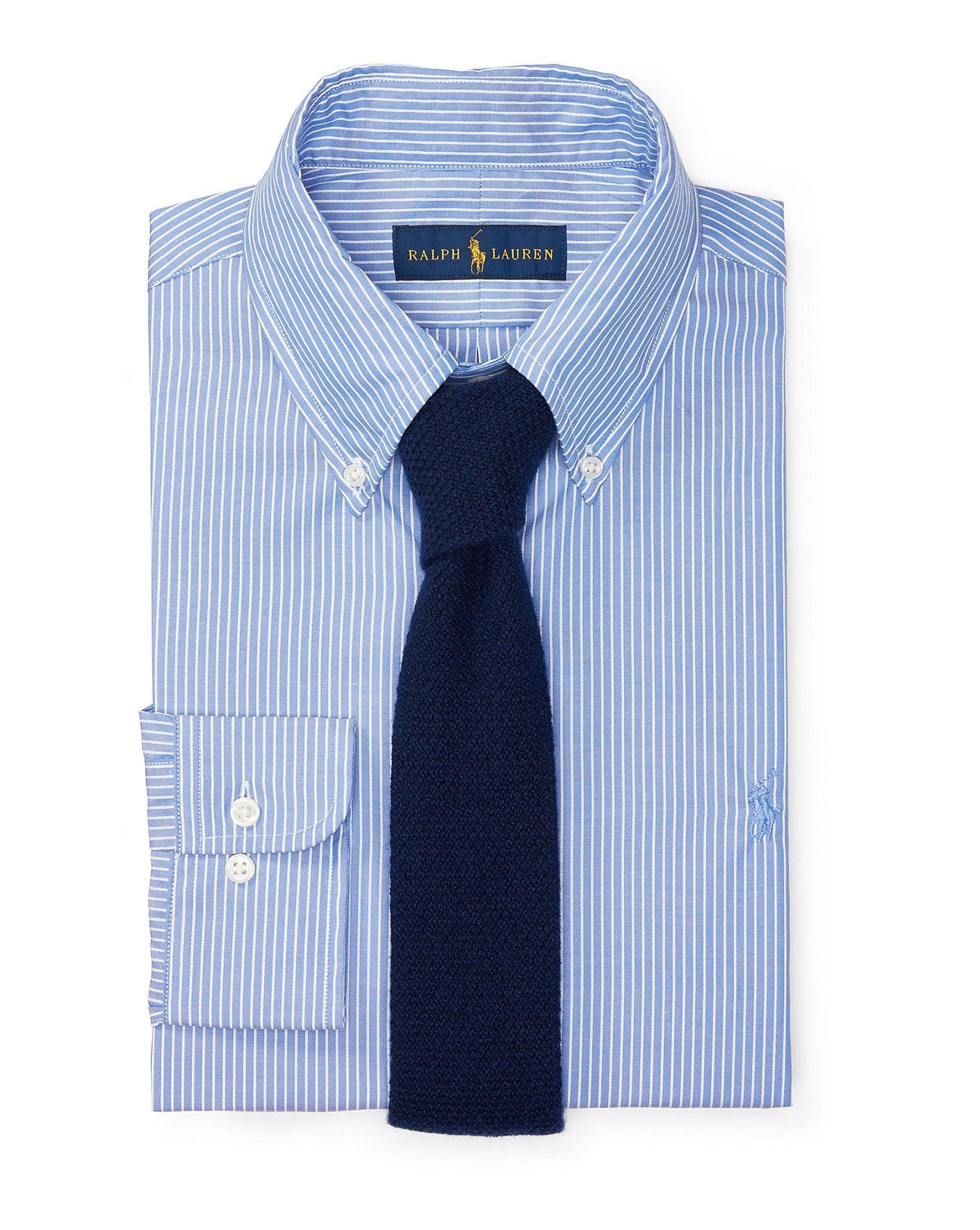Polo Ralph Lauren Cotton Oxford Dress Shirt Poloralphlauren Cloth