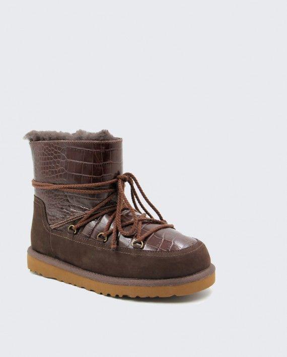 05000adf049 円 12500 ブラウン ファッション 靴ひも フラットシューズ スノーブーツ ...