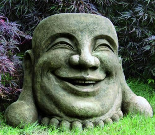 Buddha Sculptures Quotes Gardens Laughing and Garden statues
