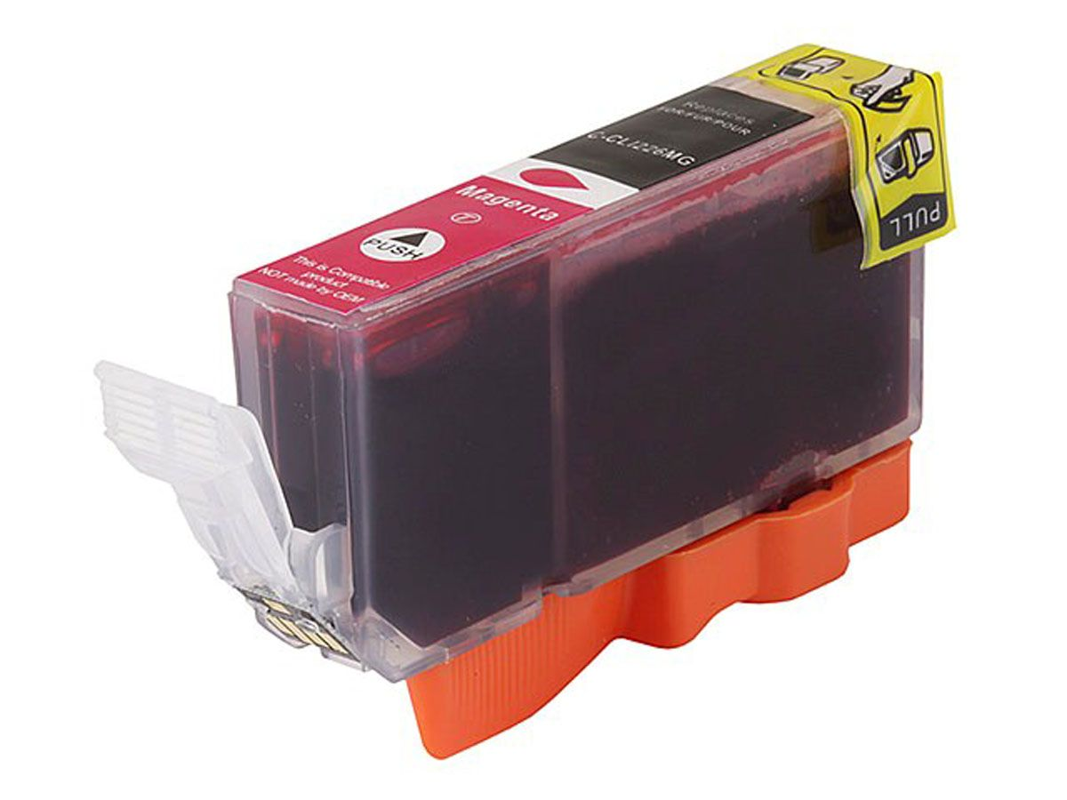 Compatible Cartridge For Canon Cli 226m Magenta With Chip Ink Pgi 29 Cyan Available At