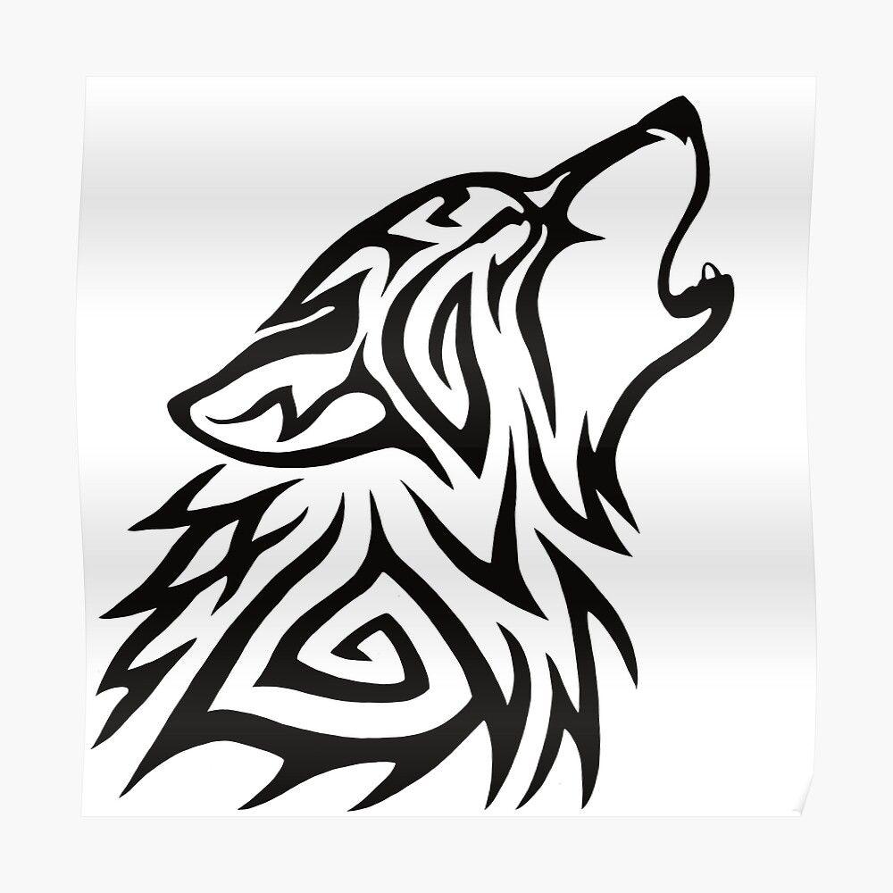 38++ Stunning Simple tribal wolf tattoo ideas