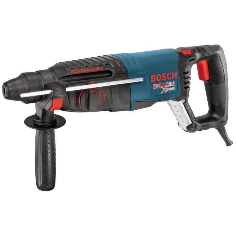 Bosch Tools 11255vsr 1 Sds Plus Bulldog Xtreme Rotary Hammer Refurb Hammer Drill Power Drill Cordless Drill