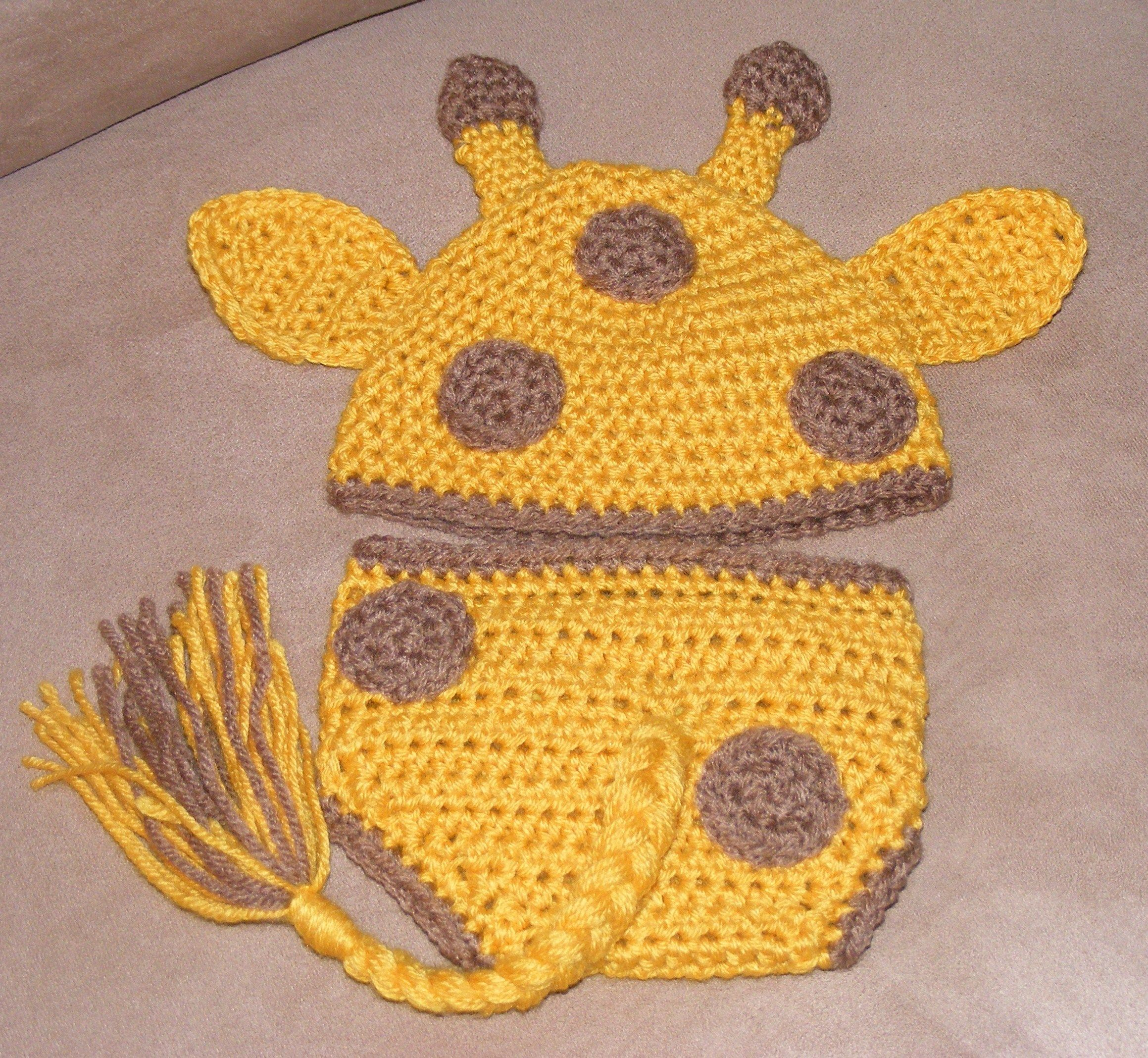 Newborn/Infant Giraffe Hat and Diaper Cover...$25 | baby cocoons ...