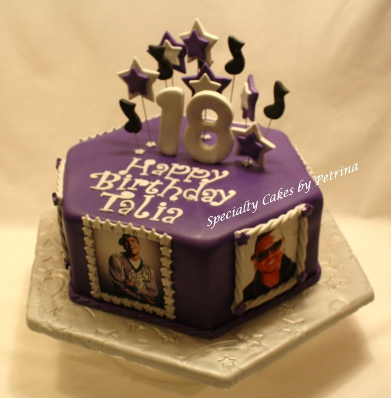 Outstanding Chris Brown Cake With Images Cake Birthday Cakes For Teens Personalised Birthday Cards Paralily Jamesorg