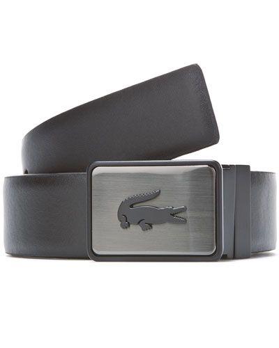 1fdb0dfd1410a2 Lacoste Men s Reversible Leather Belt