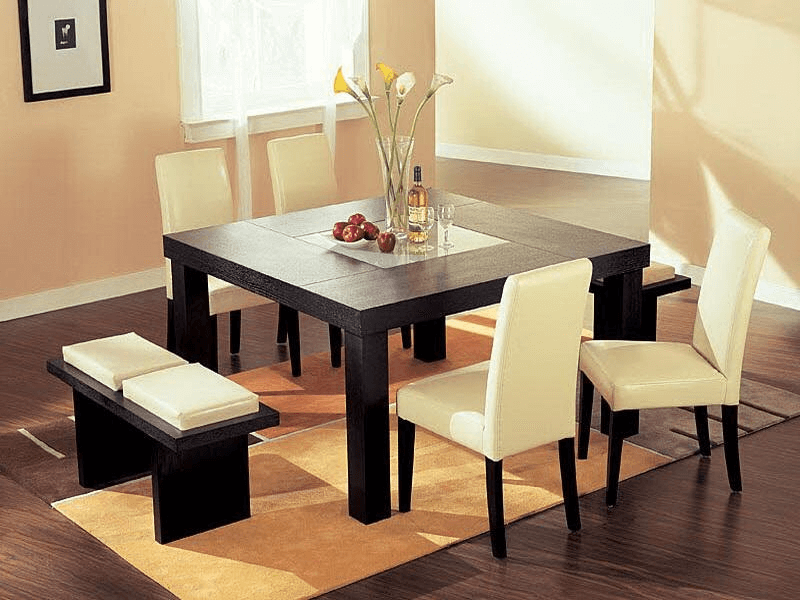 How To Decorate A Small Square Dining Table Diningtabledecor