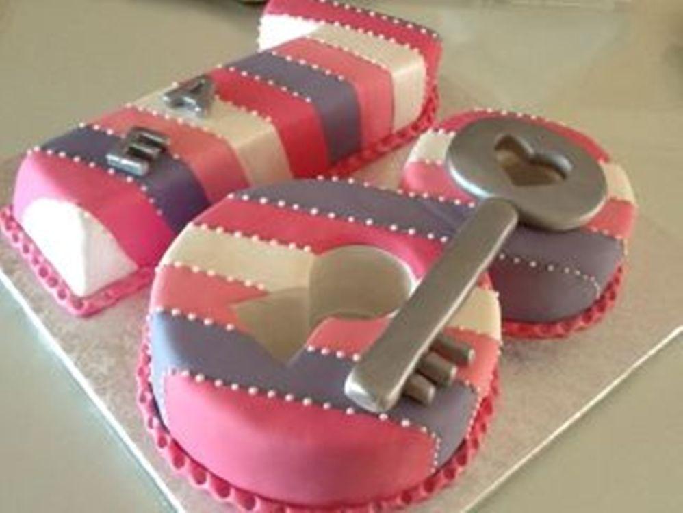 18 Birthday Cake Number 18 Cake Cupcakes Amp Cakes