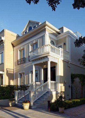 868 336 Exterior Home Design Ideas Remodel Pictures: Victorian Style - 3 Colour Scheme. Reminds Me Of San Francisco