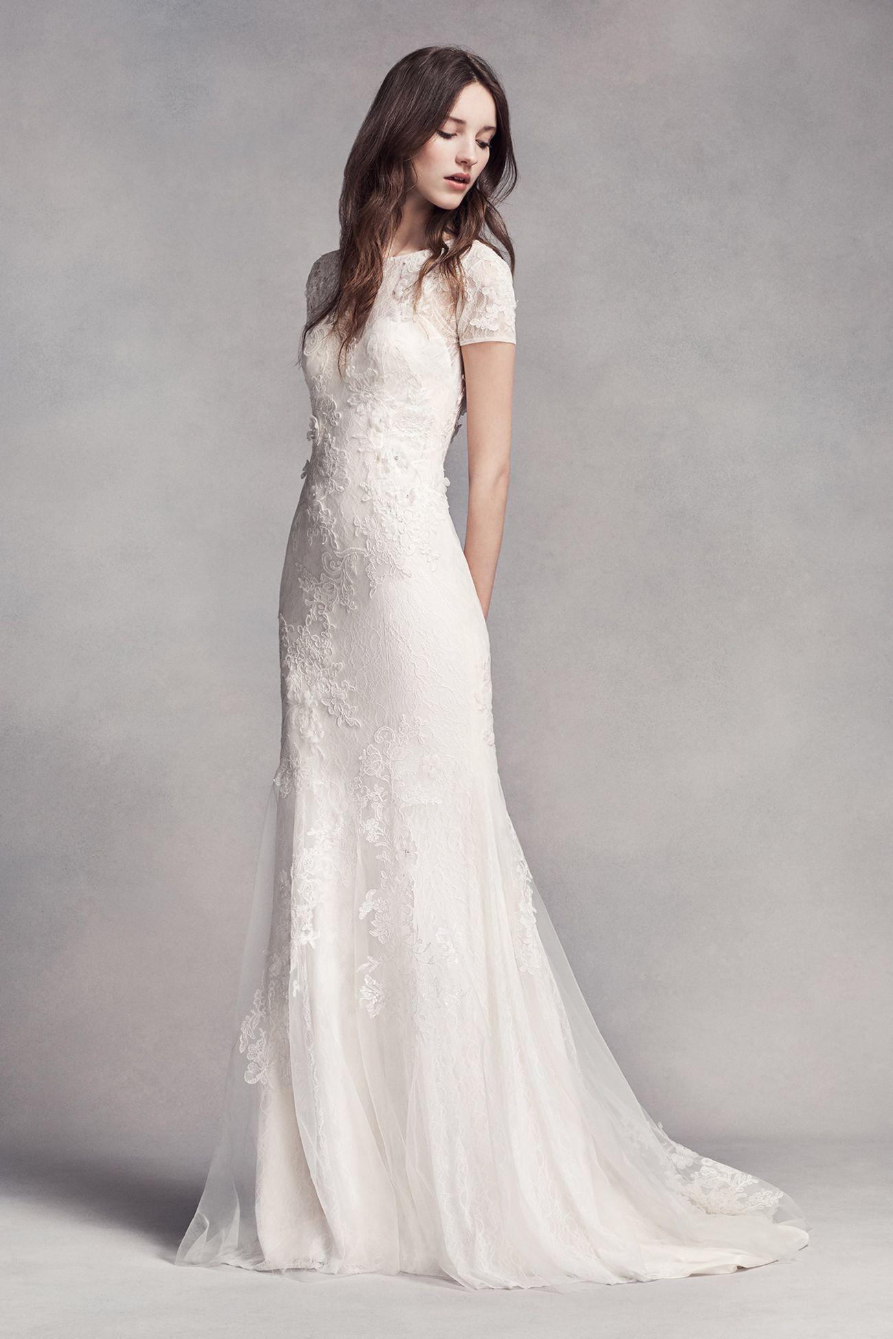 My New Favorite! www.davidsbridal.com/10678870 | Wedding Dress Ideas ...