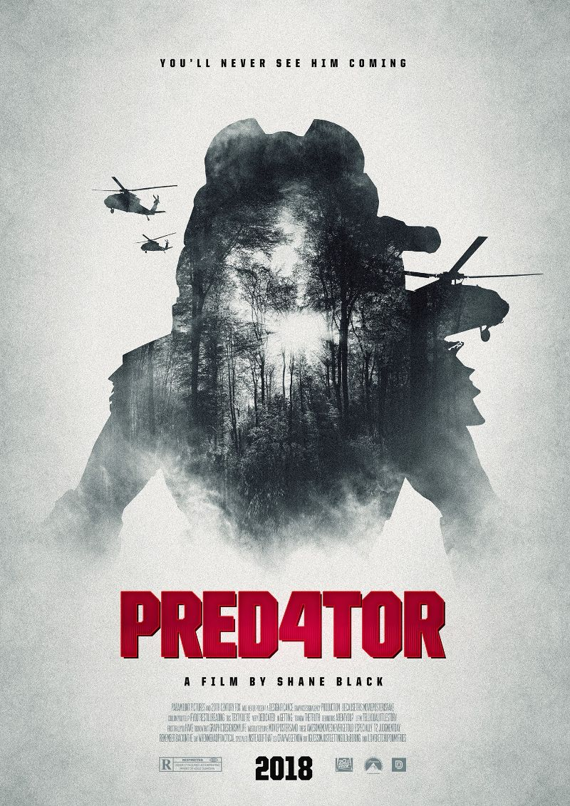 The Predator 4 2018 1080p BluRay Dual Audio Hindi English