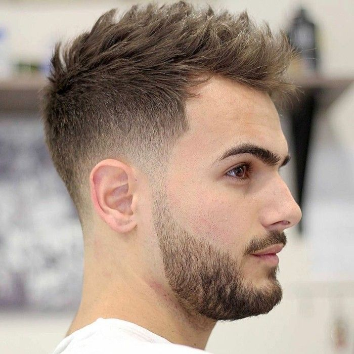 Coupe homme 2018 cheveux court