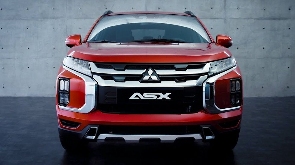 2020 Mitsubishi Asx With A Facelift Mitsubishi Outlander Sport Outlander Sport Mitsubishi Motors