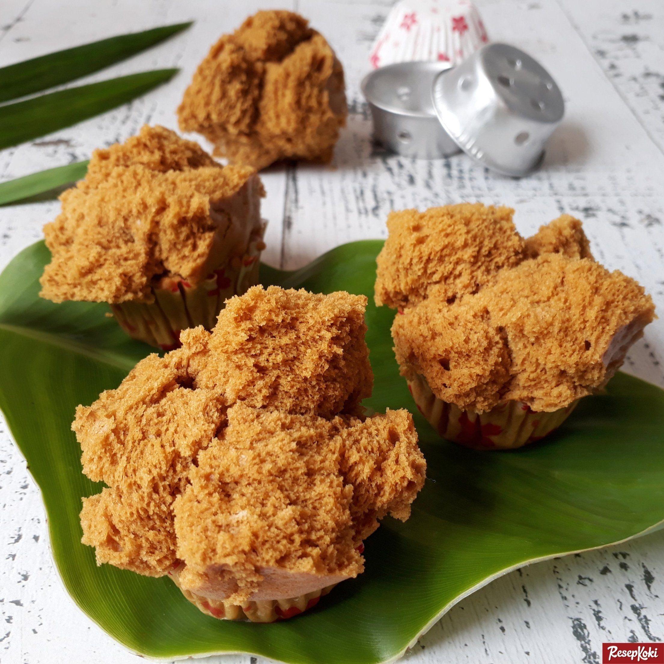 Bolu Kukus Gula Merah Mekar Merekah Dan Lembut Resep Resepkoki Resep Resep Resep Kue Mangkok Makanan Dan Minuman