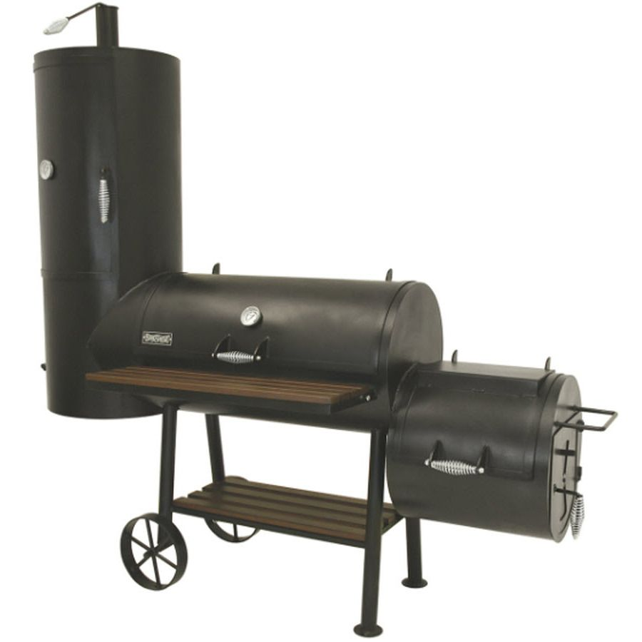 Bayou Classic 648 sq in Charcoal Horizontal Smoker at Lowes