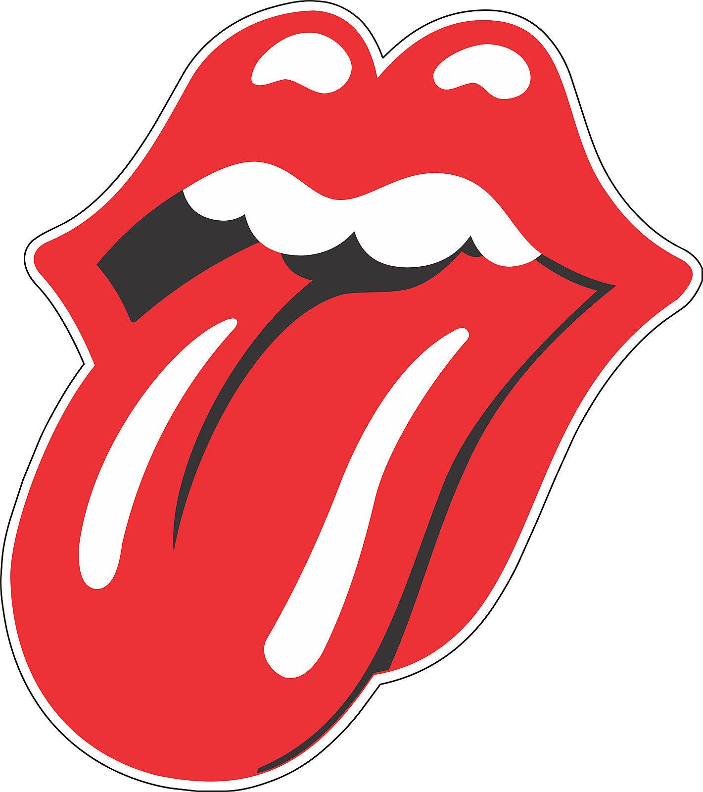 3 Rolling Stones Tongue Music Bumper Sticker Wall Decor Vinyl