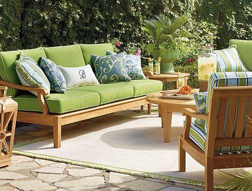 Modern Patio Furniture, Frontgate Patio Furniture Cushions