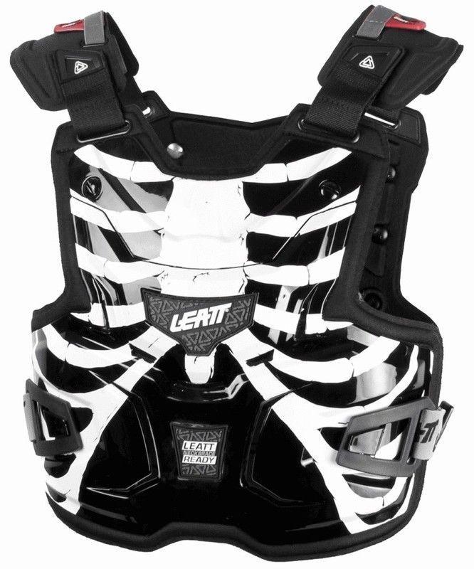 Leatt Mx Adventure Lite Tech Cage Motocross Body Armour Chest Armor Protector