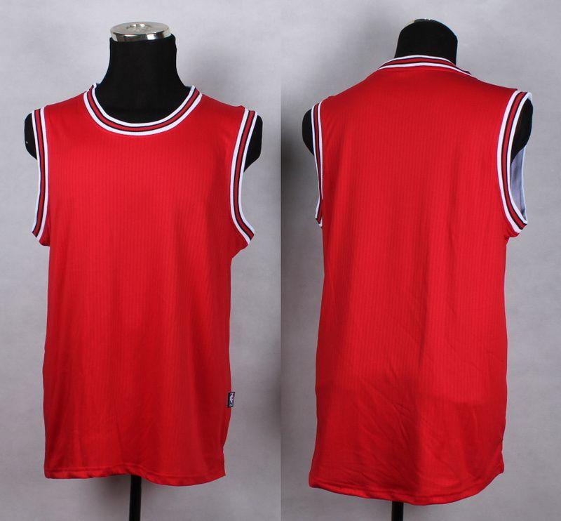 205f5e3f099f NBA Chicago Bulls Blank red New Jersey