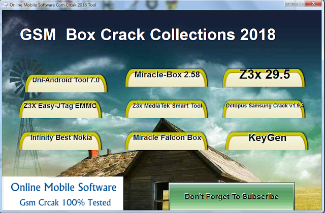 Download Latest Gsm Box Crack Collections 2018 - A Hasam Tech Info