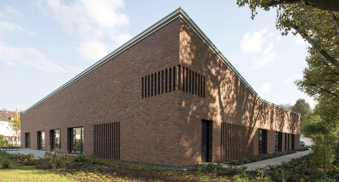Architekt Emsdetten architekt böll gemeindezentrum altenessen architecture