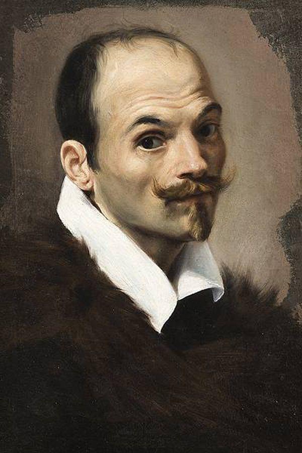 Orazio Gentileschi Self Portrait 1614 5 Male Self Portraits