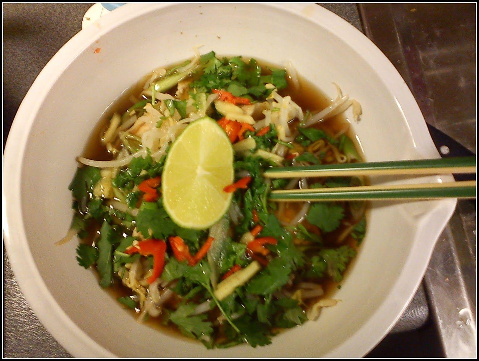 Emma i köket: Pho bo - vietnamesisk soppa